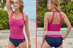 SLIMMING RUCHED ONE-PIECE